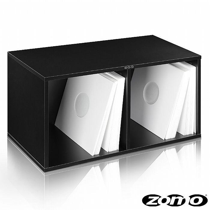 ZOMO - Zomo VSBox 12 Inch Vinyl Record Storage Box 200 (black, flat-packed)