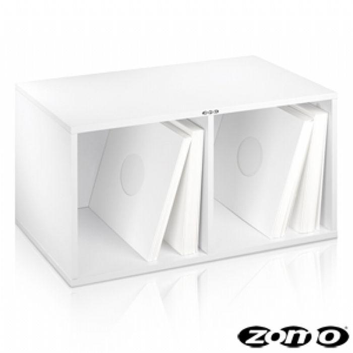 ZOMO - Zomo VSBox 12 Inch LP Vinyl Record Storage Box 200 (white, flat-packed)