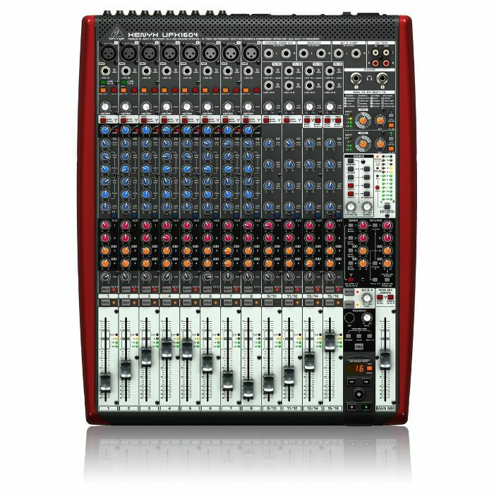 BEHRINGER - Behringer Xenyx UFX1604 Mixer + Tracktion 4 Audio PRoduction Software