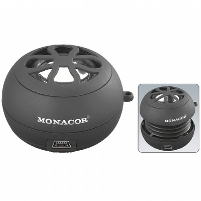 MONACOR - Monacor SP1 SW Portable Speaker (black)