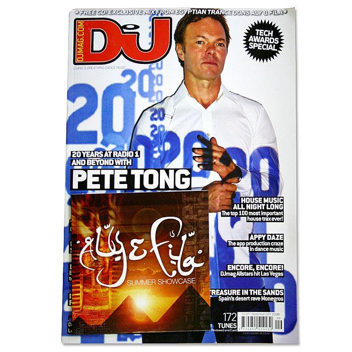 DJ MAGAZINE - DJ Magazine September 2011: #501 Tech Awards Special (incl. free Aly & Fila mix CD)
