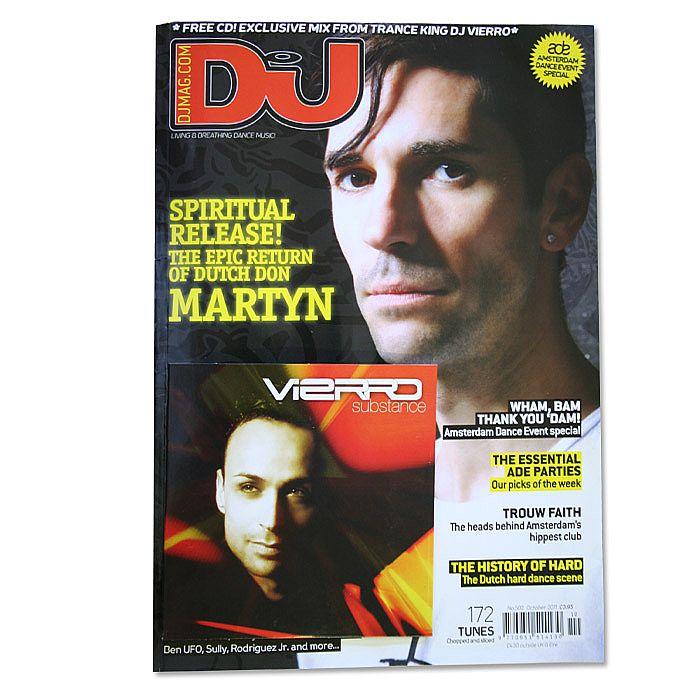 DJ MAGAZINE - DJ Magazine October 2011: #502 Amsterdam Dance Event Special (incl. free DJ Vierro mix CD)