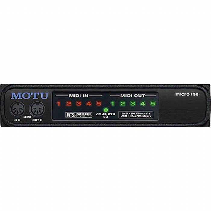 MOTU - MOTU Micro Lite MIDI Interface Patchbay