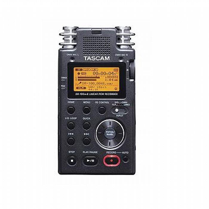 tascam tascam dr100 mkii portable digital audio recorder. Black Bedroom Furniture Sets. Home Design Ideas