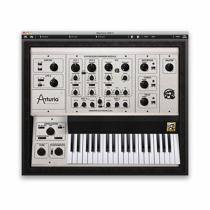 Arturia Oberheim SEM V Software Synthesizer