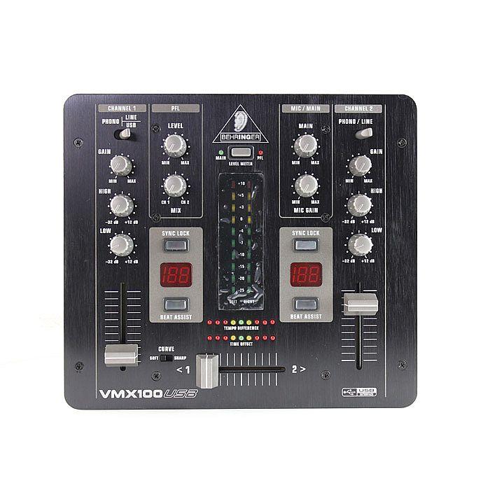 BEHRINGER - Behringer VMX100 USB DJ Mixer