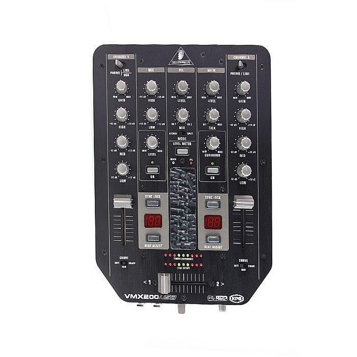 BEHRINGER - Behringer VMX200 USB DJ Mixer