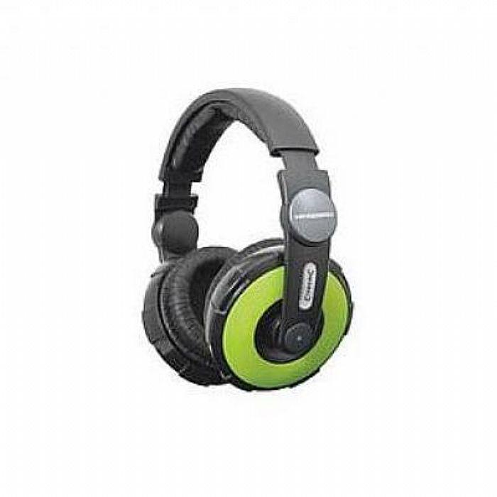 CITRONIC - Citronic HP450 Pro DJ Headphones (green)