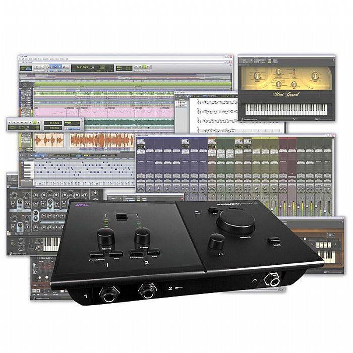 AVID - Avid Pro Tools MP + Fast Track C400 Audio & MIDI Interface Bundle
