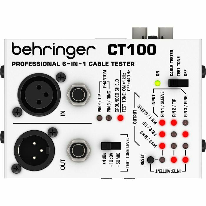 BEHRINGER - Behringer CT100 Cable Tester