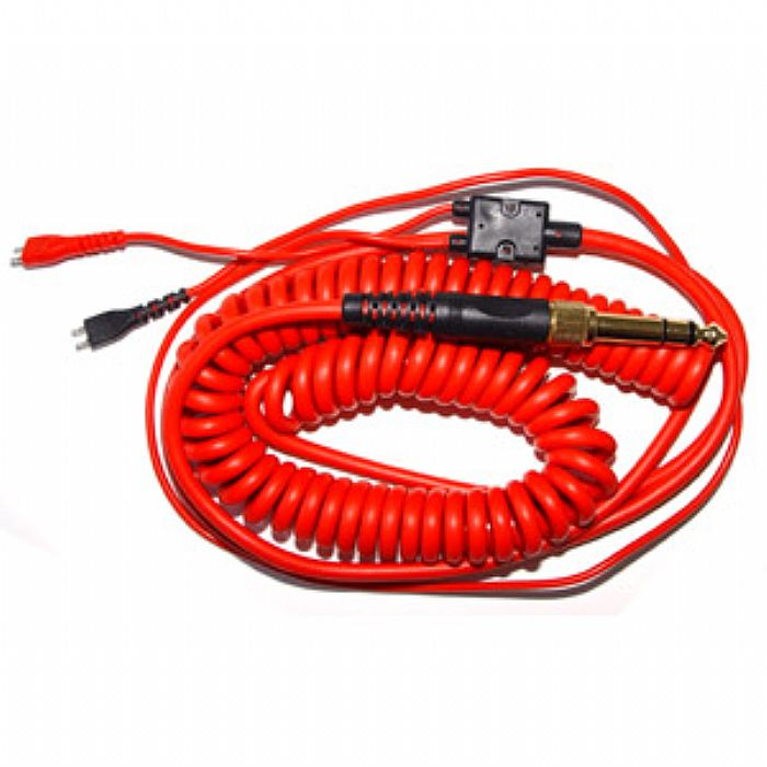 ZOMO - Zomo Replacement Deluxe Coiled Cable For Sennheiser HD25 (red, 3.5m)