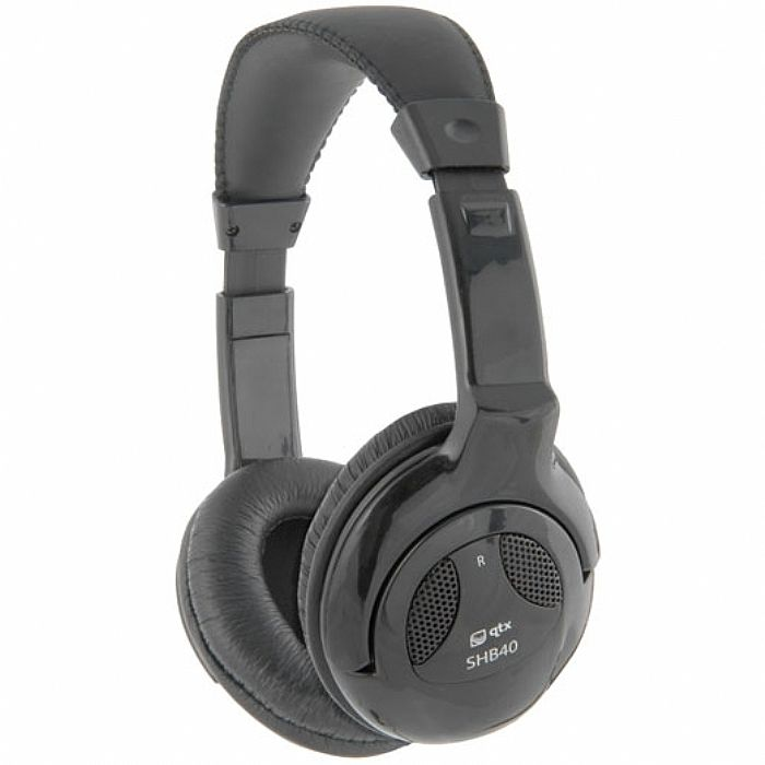 QTX SOUND - QTX Sound SHB40 Hi Fi Headphones (black)