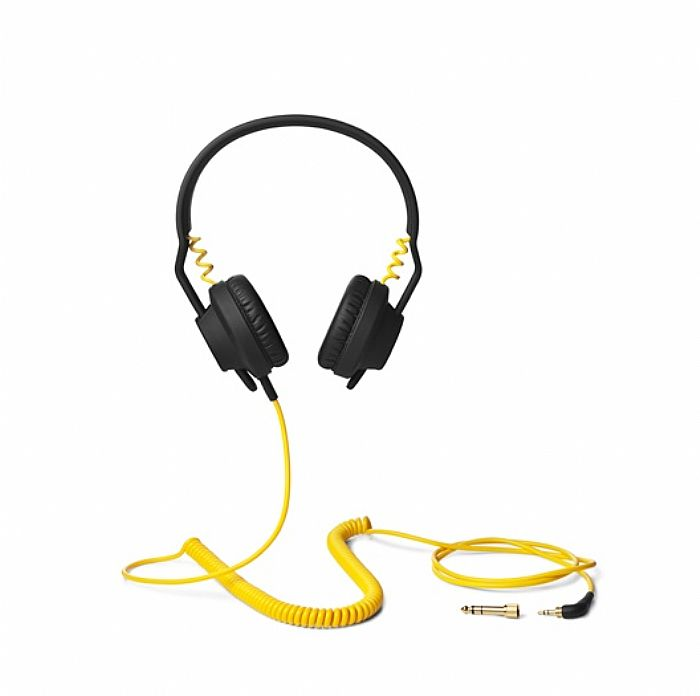 AIAIAI/FOOLS GOLD - AIAIAI TMA1 Fools Gold Headphones With Mic (black, yellow)