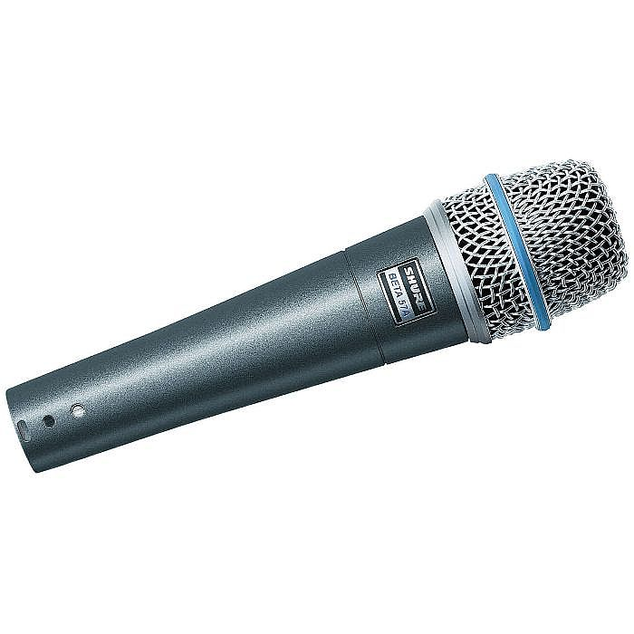 SHURE - Shure Beta 57A Dynamic Microphone (metallic blue)