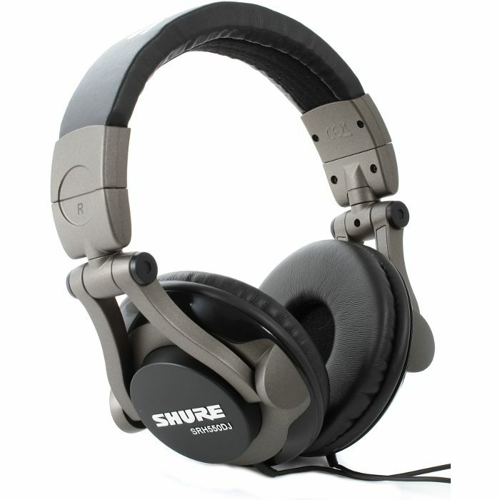 SHURE - Shure SRH550 DJ Headphones (black)