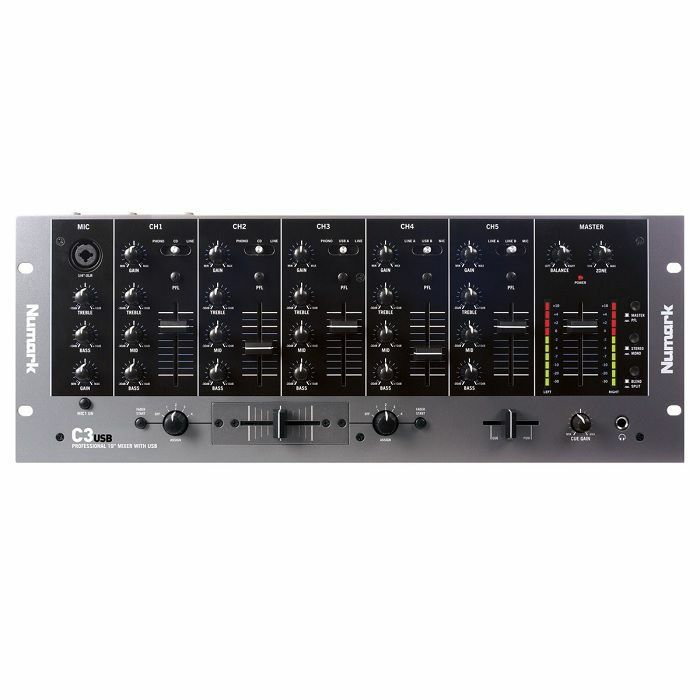NUMARK - Numark C3USB Professional 19 Inch Mixer With USB