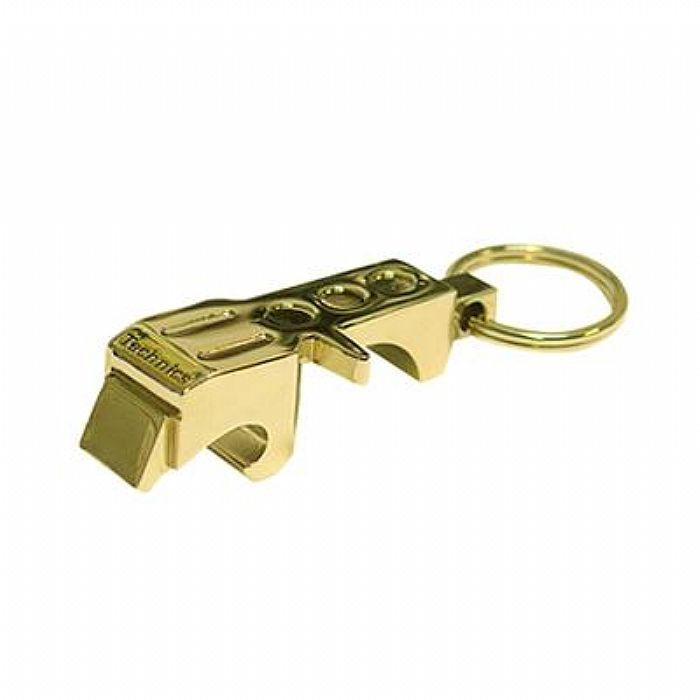 TECHNICS - Technics Headshell Bottle Opener Keyring (gold)
