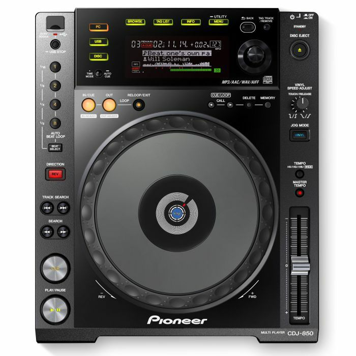 PIONEER - Pioneer CDJ850 Multi CD USB Player (single, black)