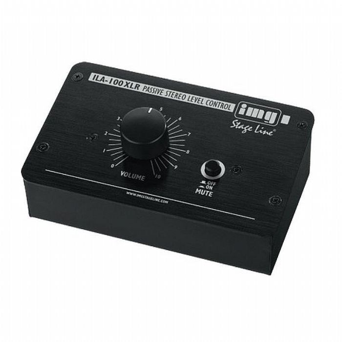 IMG STAGE LINE - IMG Stage Line ILA100 XLR Passive Stereo Volume Controller (XLR version)