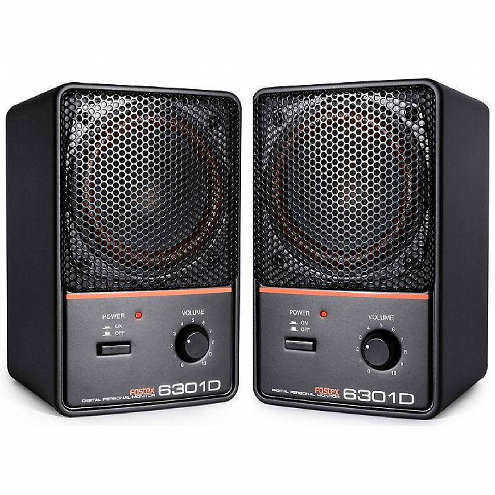 FOSTEX - Fostex 6301D Powered Reference Monitors (pair)