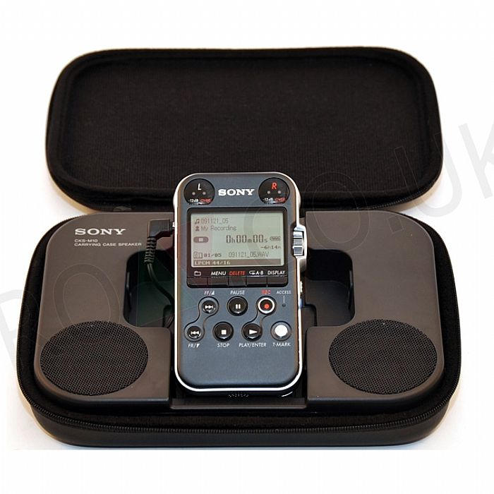 SONY - Sony CKSM10 Carrying Case Portable Speaker For Sony PCM M10 (black)