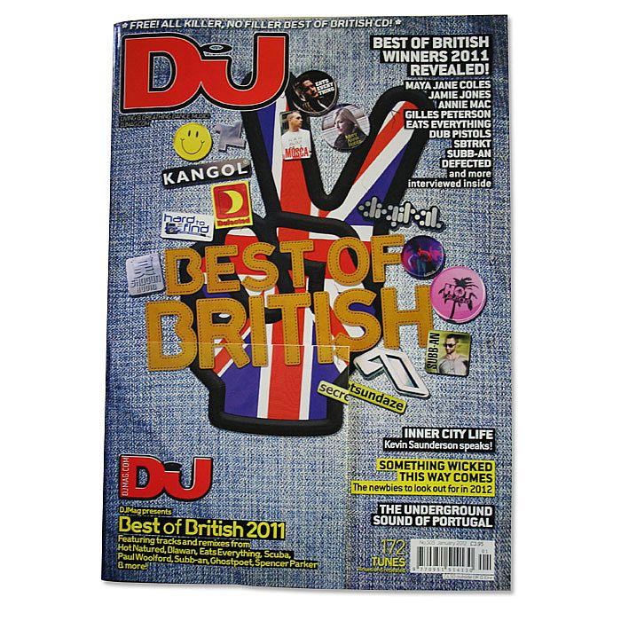 DJ MAGAZINE - DJ Magazine January 2012: #505 Best Of British 2011