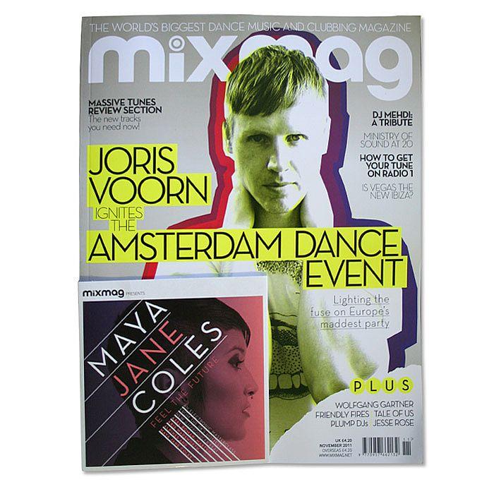 MIXMAG - Mixmag Magazine: Issue 246 November 2011 (incl. free Maya Jane Cole mix CD)