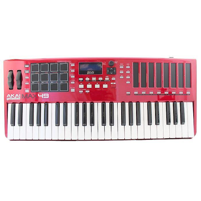 Akai Max49 USB MIDI CV Keyboard Controller