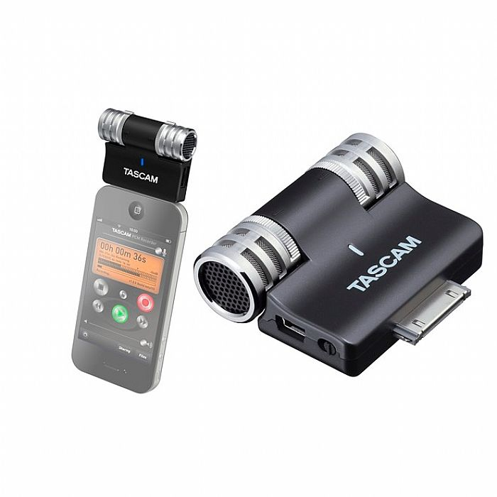 Tascam iM2 Stereo Condenser Microphone For iPhone, iPod and iPad