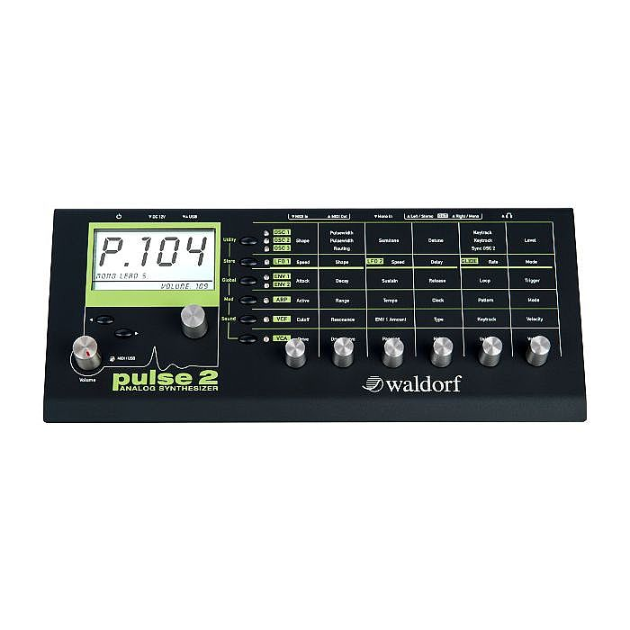 WALDORF - Waldorf Pulse 2 Analog Synthesizer