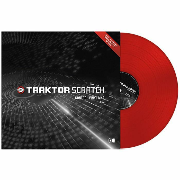 NATIVE INSTRUMENTS - Native Instruments Traktor Scratch Control Vinyl MkII (red)