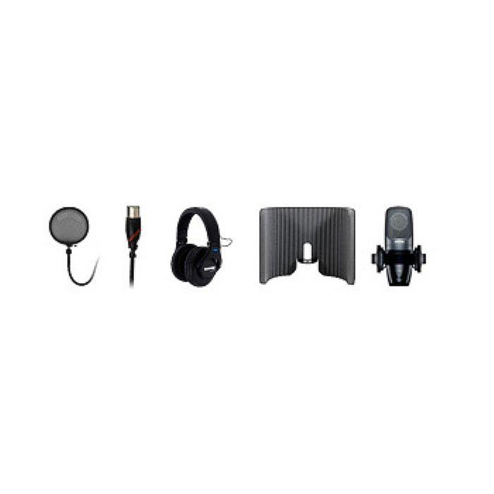 SHURE - Shure Studio Bundle 2: Shure PG42 Microphone SRH440 Headphones & Primacoustic VoxGuard