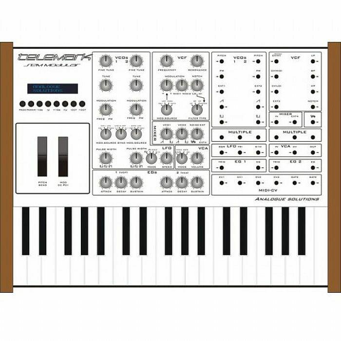 analogue solutions analogue solutions telemark k semi modular keyboard synthesizer vinyl at juno. Black Bedroom Furniture Sets. Home Design Ideas