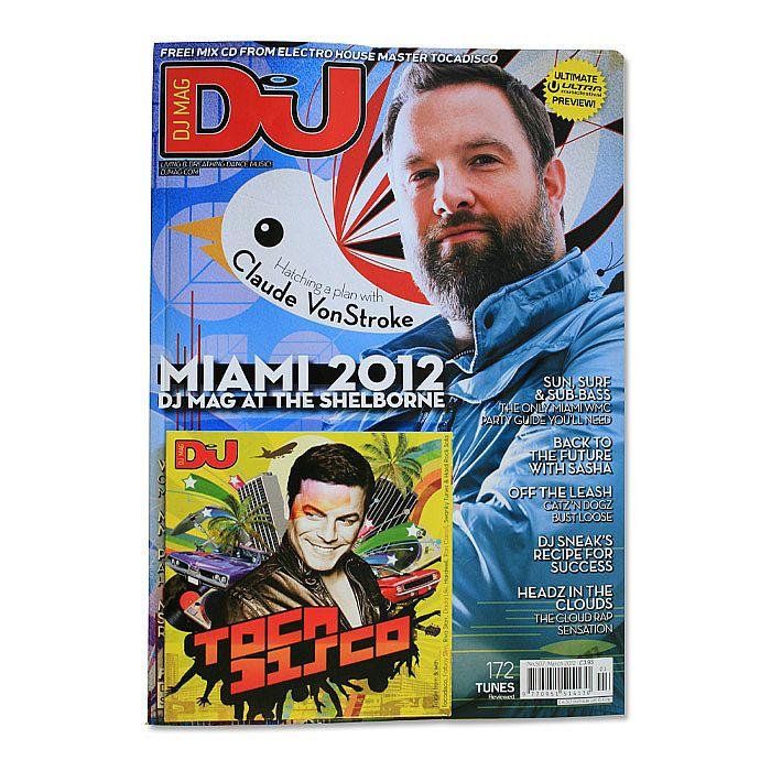 DJ MAGAZINE - DJ Magazine March 2012: #507 My Mum Comes Ravin' With Me (incl. free Tocadisco mix CD)