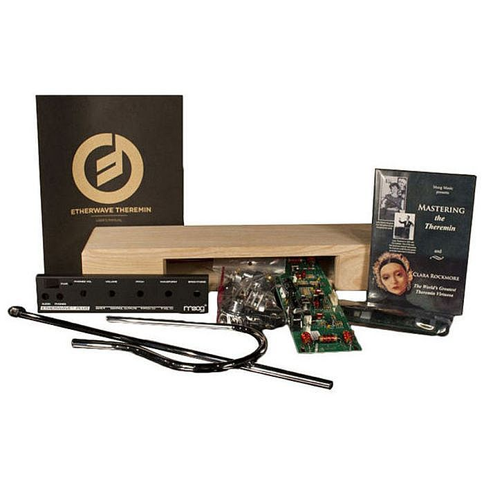 moog moog etherwave plus theremin kit vinyl at juno records. Black Bedroom Furniture Sets. Home Design Ideas
