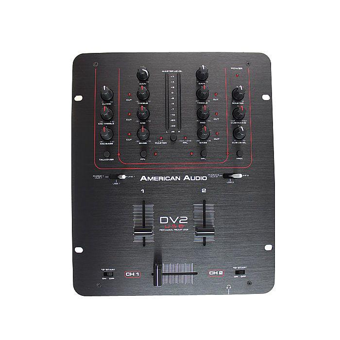 AMERICAN AUDIO - American Audio DV2 USB DJ Mixer