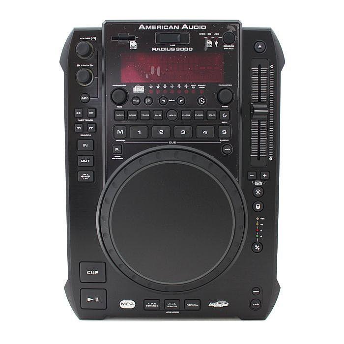 AMERICAN AUDIO - American Audio Radius 3000 CD MP3 WAV USB Player & MIDI Controller