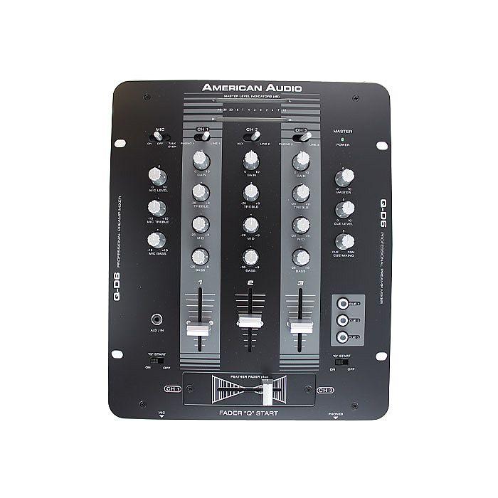 AMERICAN AUDIO - American Audio QD6 DJ Mixer