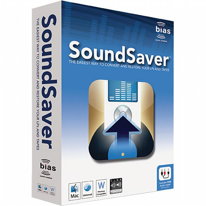 BIAS - Bias SoundSaver Audio Recording & Restoration Software