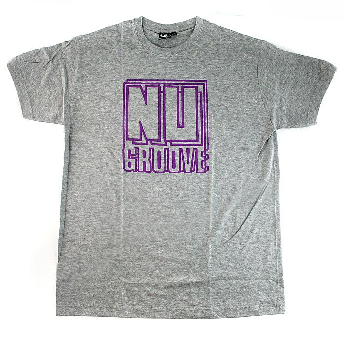 RUSH HOUR - Rush Hour Nu Groove T-shirt (ash grey with purple print)