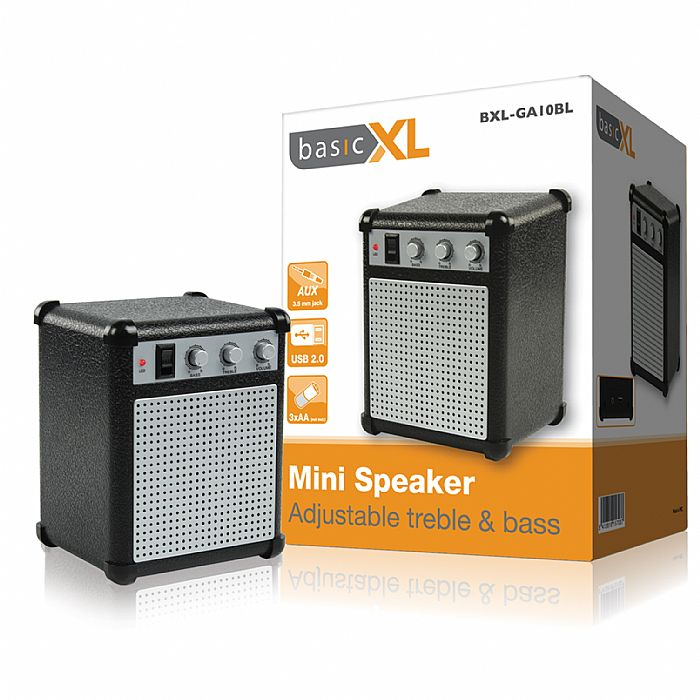 BASICXL - BasicXL Mini Portable Speaker (black)