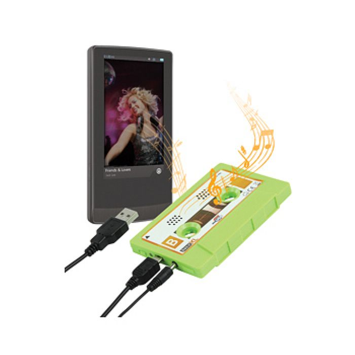 BASICXL - BasicXL Cassette Portable Speaker (green)