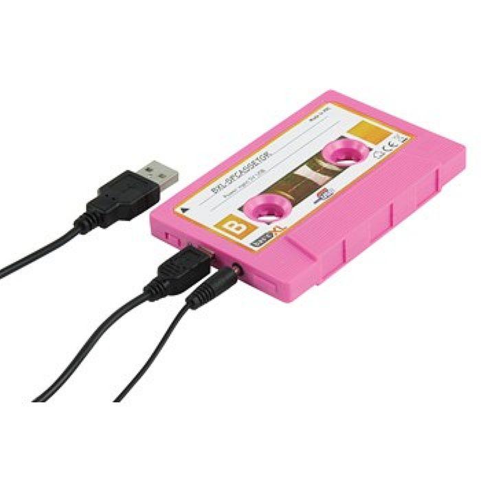 BASICXL - BasicXL Cassette Portable Speaker (pink)