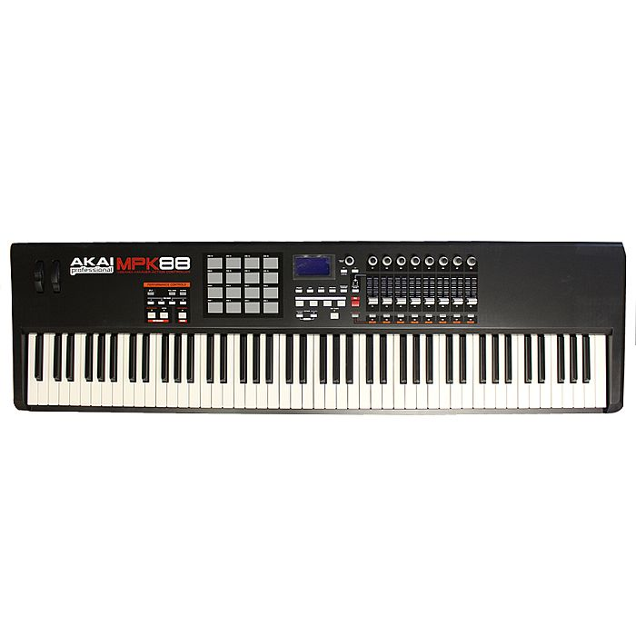 akai mpk88 hammer action weighted usb midi keyboard controller free chord keycover kc8. Black Bedroom Furniture Sets. Home Design Ideas