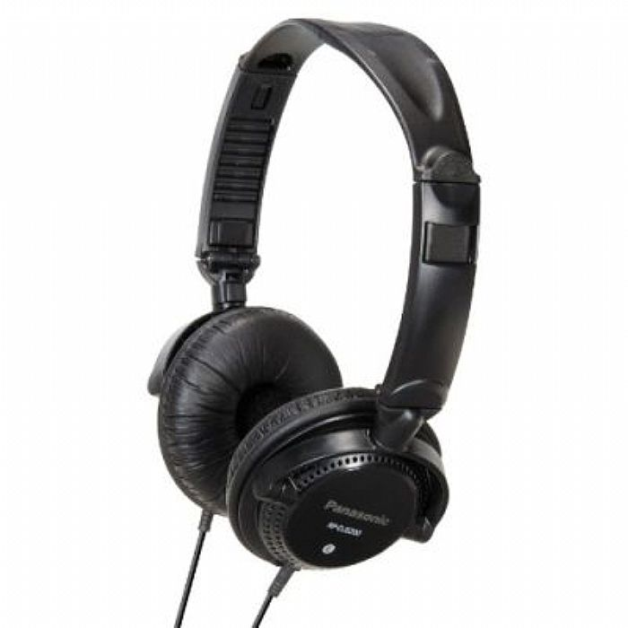PANASONIC - Panasonic RPDJS200 DJ Headphones (black)