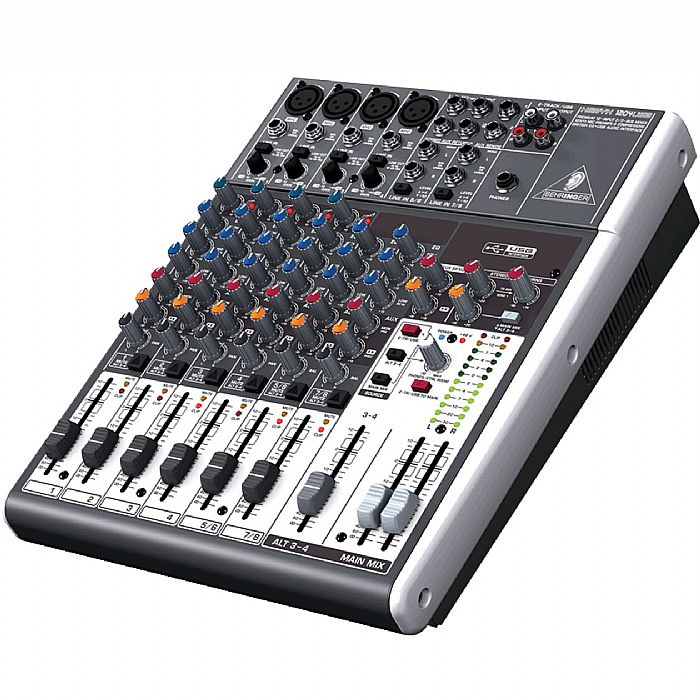 BEHRINGER - Behringer 1204USB Xenyx Mixer + Tracktion 4 Audio Production Software