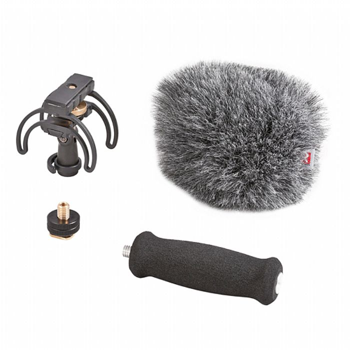 RYCOTE - Rycote Portable Audio Recorder Kit For Tascam DR05 With Suspension Windshield & Grip