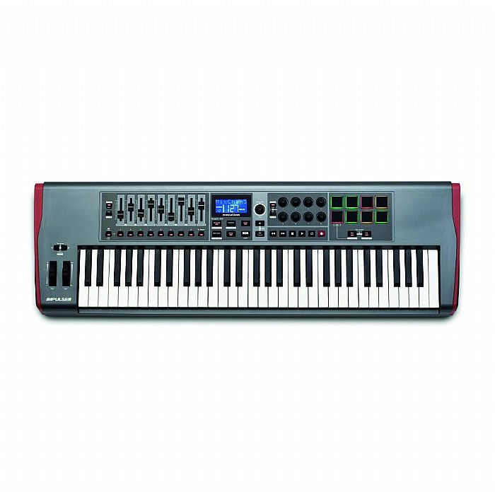 NOVATION - Novation Impulse 61 Keyboard Controller + Ableton Live Lite Software (black)