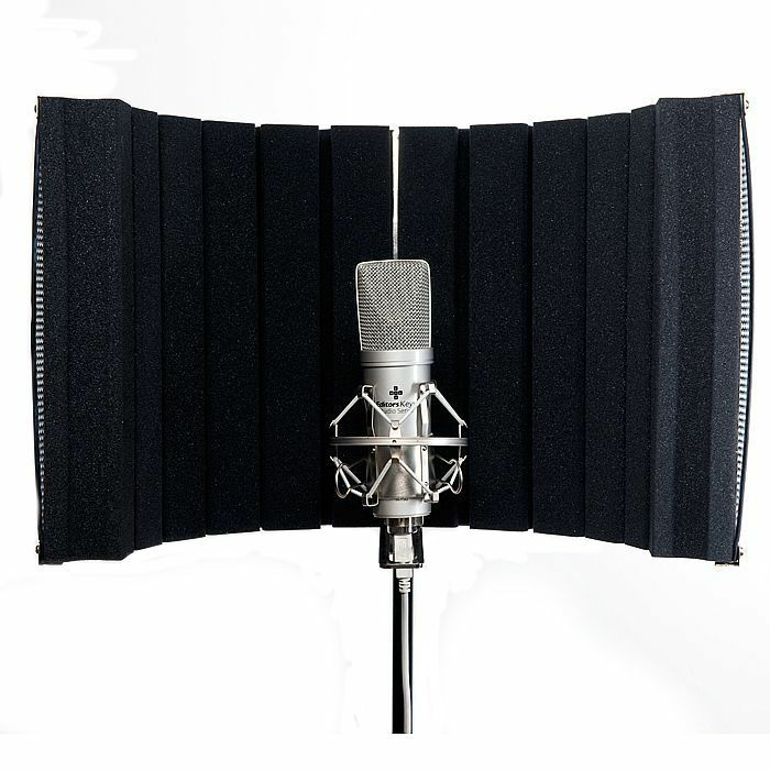 EDITORS KEYS - Editors Keys Portable Microphone Vocal Booth Home Edition
