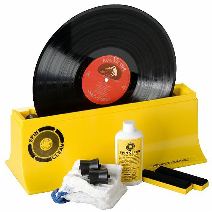 SPIN CLEAN - Spin Clean Vinyl Record Washer MKII Record Cleaning System